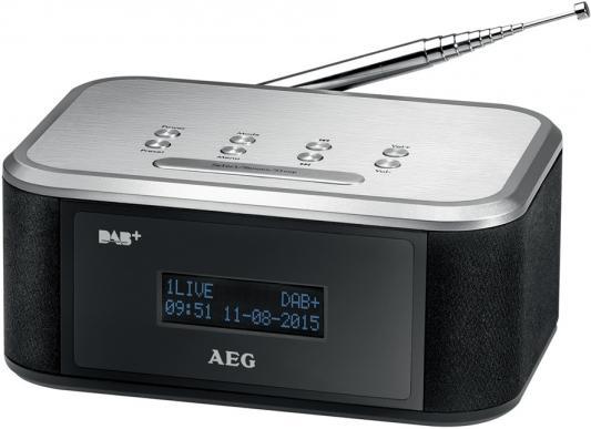 Радиоприемник AEG MRC 4148 DAB+ чёрный серебристый радиоприемник aeg mrc 4150 wh