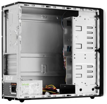 Корпус microATX Delux ML-113 450 Вт чёрный серебристый