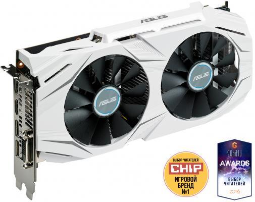 Видеокарта 3072Mb ASUS GeForce GTX1060 Dual PCI-E 192bit GDDR5 DVI HDMI DP DUAL-GTX1060-3G