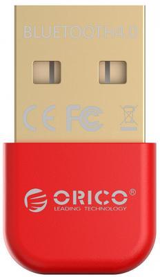 Беспроводной Bluetooth адаптер Orico BTA-403-RD USB красный цена и фото