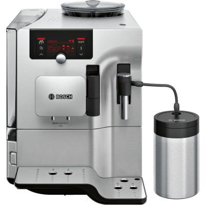 Кофемашина Bosch TES80721RW серебристый