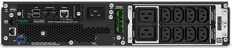 ИБП APC Smart-UPS SRT 2200VA 1980W черный SRT2200RMXLI-NC