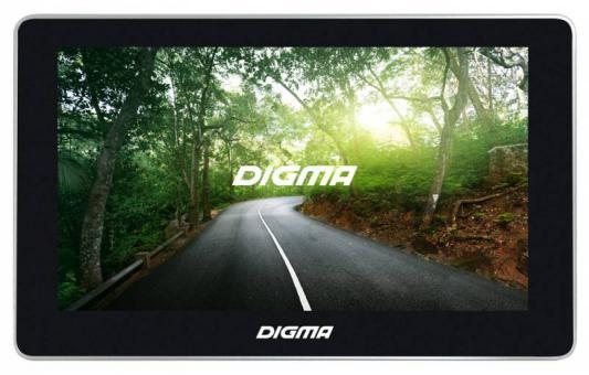 "Навигатор Digma Alldrive 700 7"" 480x272 microSD Навител черный"