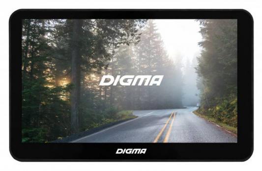 "Навигатор Digma Alldrive 701 7"" 480x272 microSD Навител черный"