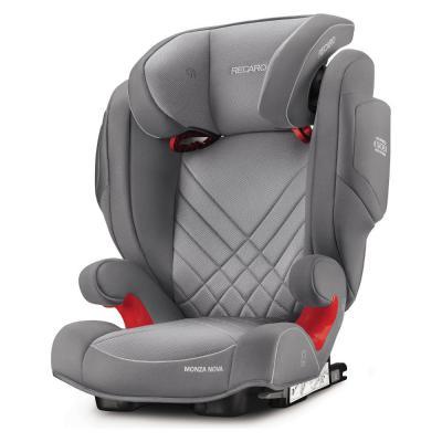 Автокресло Recaro Monza Nova 2 SeatFix (aluminum grey) детское автокресло recaro monza nova 2 seatfix mocca