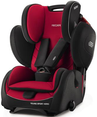 Автокресло Recaro Young Sport Hero (racing red) recaro автокресло young sport hero 9 36 кг recaro perfomance black
