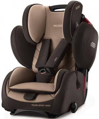 Автокресло Recaro Young Sport Hero (dakar send) велокрылья simpla kido sds 20 black blue