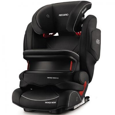 Автокресло Recaro Monza Nova IS Seatfix (perfomance black)