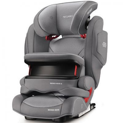 Автокресло Recaro Monza Nova IS Seatfix (aluminum grey)