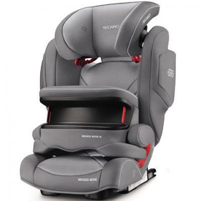 все цены на Автокресло Recaro Monza Nova IS Seatfix (aluminum grey) онлайн