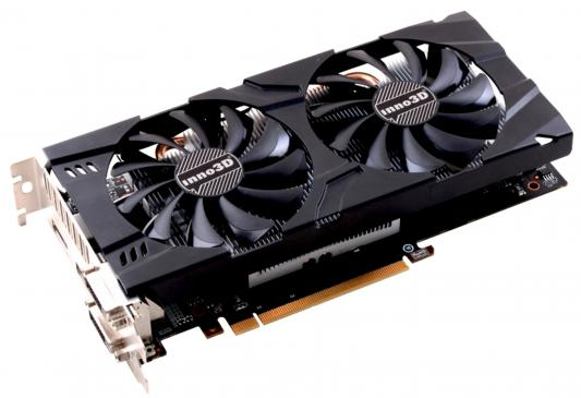 Видеокарта 3072Mb  Inno3D GeForce GTX 1060 TwinX2 PCI-E 192bit GDDR5 DVI HDMI DP N106F-2SDN-L5GS Retail