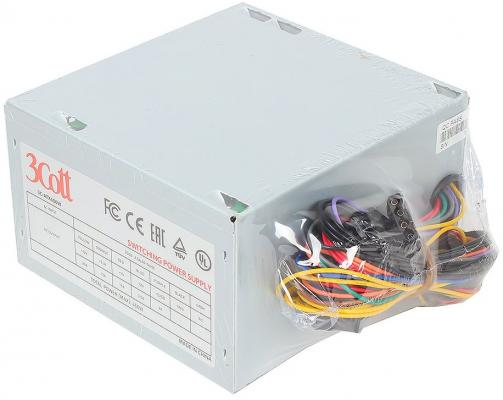 БП ATX 450 Вт 3Cott 3C-ATX450W корпус системного блока 3cott 3c atx j107 black 3cott 3c atx j107