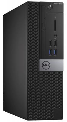 Системный блок Dell OptiPlex 3040 SFF i3-6100 3.7GHz 4Gb 500Gb HD530 DVD-RW Win7Pro Win10 клавиатура мышь черный 3040-9907