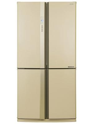 Холодильник Side by Side Sharp SJ-EX98FBE бежевый холодильник side by side samsung rs 552 nrua9m wt