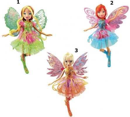 Кукла Winx Club Баттерфликс-2 Двойные крылья, 3 шт. в асс-те