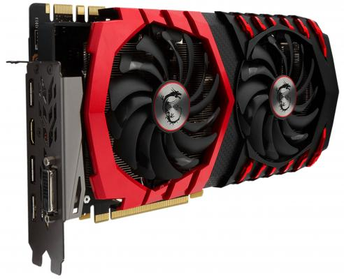 Видеокарта MSI GeForce GTX 1070 GTX 1070 GAMING 8G PCI-E 8192Mb GDDR5 256 Bit Retail