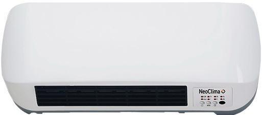 Тепловентилятор NEOCLIMA LITEN 9016 2000 Вт таймер пульт ДУ вентилятор белый