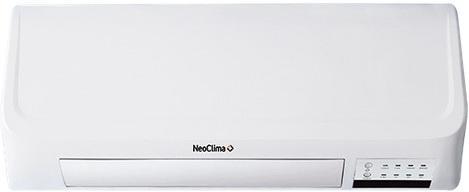 Тепловентилятор NEOCLIMA PORTER 9016 2000 Вт таймер пульт ДУ вентилятор белый