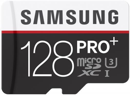 Карта памяти Micro SDXC 128Gb Class 10 Samsung MB-MD128DA/RU+ SD adapter