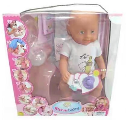Кукла-младенец Shantou Gepai Warm Baby 43 см 8004-415 newborn baby boy girl infant warm cotton outfit jumpsuit romper bodysuit clothes