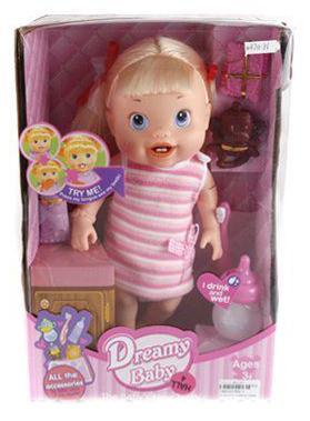 Кукла Shantou Gepai Dreamy Baby - Первый зуб