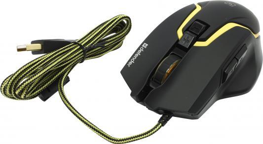 Мышь проводная DEFENDER Warhead GM-1750 чёрный USB 52750
