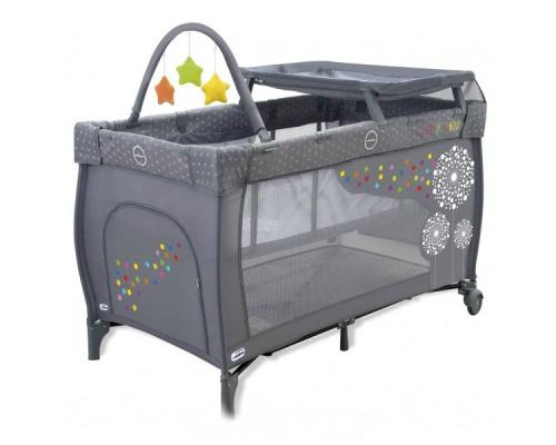 Манеж Asalvo Travel Cot Mix Plus (dandelion/11473)