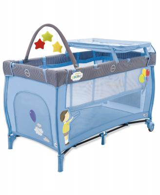 Манеж Asalvo Travel Cot Mix Plus (balloons/11300)