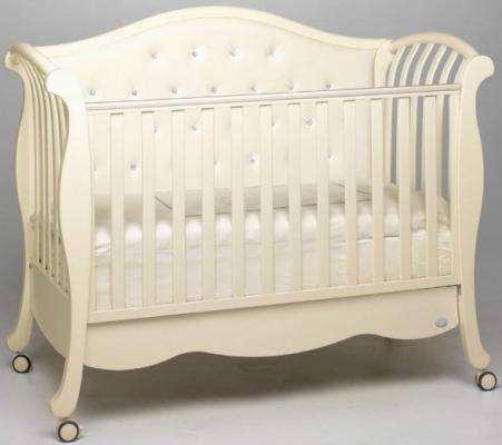 Кроватка Bambolina Divina Lux Cristallo (слоновая кость)
