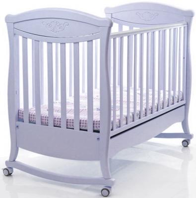 Кроватка-качалка Bambolina Principessa Classic (белый)