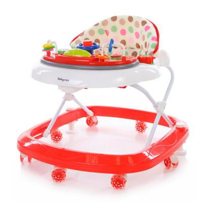 Ходунки Baby Care Sonic (white/red) baby care suprim