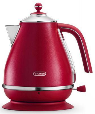 Чайник DeLonghi KBOE2001 2000 Вт красный 1.7 л металл