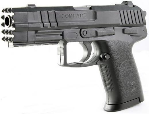 Пистолет Shantou Gepai Compact черный ES447-304940PB