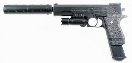 Пистолет Shantou Gepai ES2089-K2011-B+ черный ES2089-K2011-B+