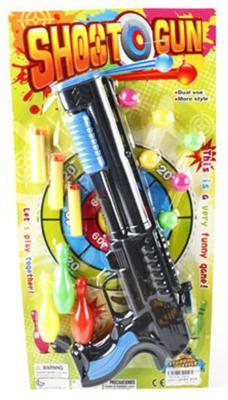 Пистолет Shantou Gepai Shoot Gun с пулями черный 338-8