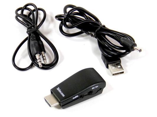 Переходник HDMI - VGA+аудио Telecom TTC4020