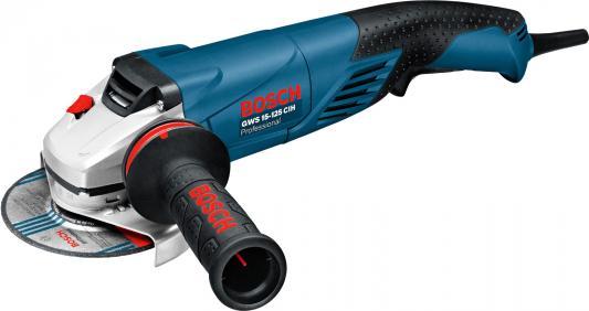 Углошлифовальная машина Bosch GWS 15-125 CIH 125 мм 1500 Вт bosch gws 15 125 cith professional