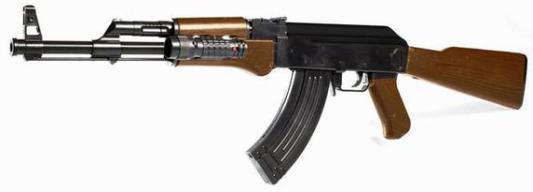 Автомат Shantou Gepai мех., прицел, фонарь, 730мм, кор. ES771-0926D пистолет shantou gepai desert eagle серый прицел гелевые пули usb зарядка 635448