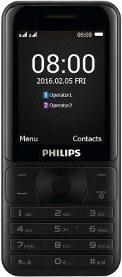 Мобильный телефон Philips Xenium E181 черный мобильный телефон philips xenium e 181 черный