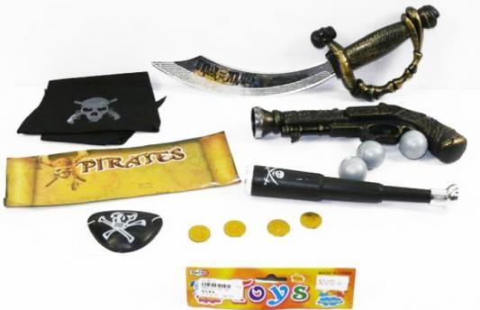"""Набор оружия Shantou Gepai """"Пиратский"""" U100-36 черный серый"""