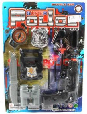 Набор Shantou Gepai Полиция черный серый 581-6