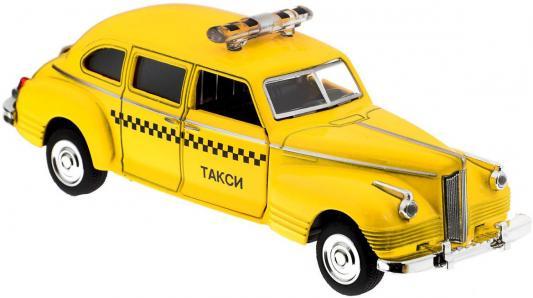 """Интерактивная игрушка Play Smart """"ЗИС-110"""" - Такси от 3 лет жёлтый 1:43 P41143"""