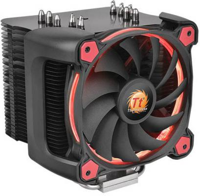 Кулер для процессора Thermaltake Riing Silent 12 Pro Red CL-P021-CA12RE-A Socket 775/1150/1151/1155/1156/1356/1366/2011/2011-3/AM2