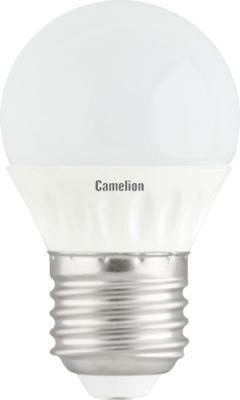 Лампа светодиодная шар Camelion LED3-G45/830/E27 E27 3W 3000K лампа светодиодная camelion led3 g45 845 е27 3вт 220в е27