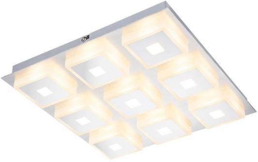 Потолочный светодиодный светильник Globo Quadralla 41111-9 потолочный светодиодный светильник globo wave 67823w