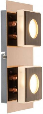 Настенный светодиодный светильник Globo 49403-2 потолочный светодиодный светильник globo 49403 арт 49403 4
