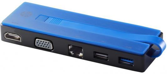 Док-станция для ноутбуков HP USB-C Travel Dock T0K29AA