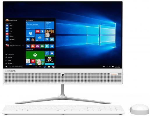 "Моноблок 21.5"" Lenovo IdeaCentre 510-22ISH 1920 x 1080 Intel Core i3-6100T 4Gb 500Gb Intel HD Graphics 530 64 Мб Windows 10 Professional белый F0CB00FTRK"