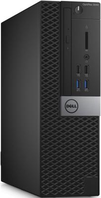 Системный блок Dell Optiplex 3040 SFF i3-6100 3.7GHz 4Gb 500Gb HD530 DVD-RW Linux клавиатура мышь черный 3040-9891