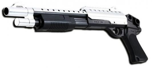 Дробовик Shantou Gepai ES1003-M969BX черный серебристый
